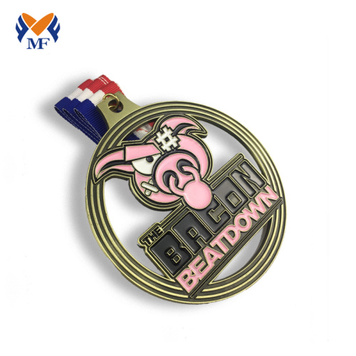 Metal medals race for sale bespoke running medals