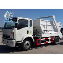 Swing Arm Garbage Collection Truck SINOTRUK HOWO
