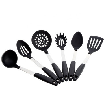 6 Pieces of Silicone Cooking Kitchen Utensils Sets