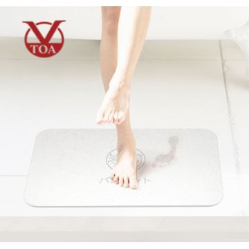 Healcier Water Drying Diatomaceous Bath-Mat With OEM Logo