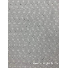White Cotton Embroider Fabric