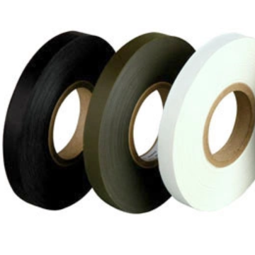 Hot melt adhesive film tape on leather fabric