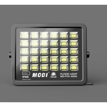 Solar safety floodlight for cargo terminal