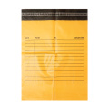 Orange Poly Colored Mailers Kraft Bubble Mailer