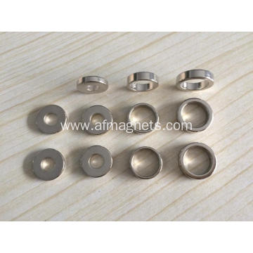 Custom Ring Neodymium Magnets