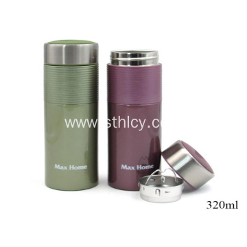 304 Stainless Steel Fengcai Scrub Business Vacuum Mug