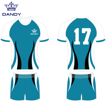 Custom rugby jersey polyester rugby uniform