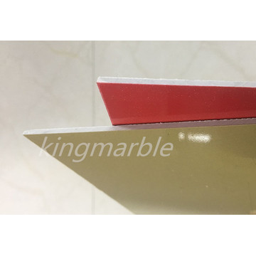 1.22*2.44m light weight and easy processed pvc marble sheet
