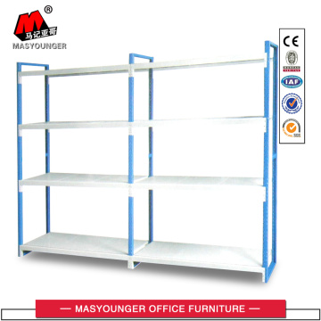 Double light goods rack