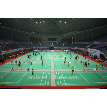 PVC Badminton flooring/Badminton sports floor with BWF