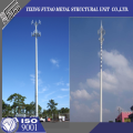 Galvanized 36M Communication Tower with Antennas