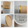 Recycled Round Paper Packaging Perfume Tube Box