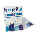 Custom Handmade Decoration Gift Greeting Card Printing