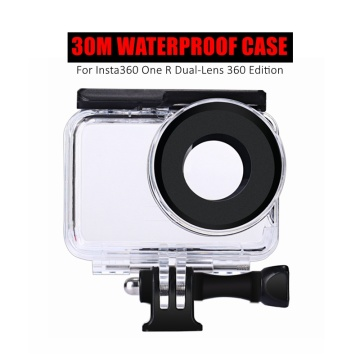 30m Insta 360 R Underwater Protective Box Dive Case Waterproof Housings For Insta360 ONE R Dual-Lens 360 Mod Accessories