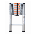 Total aluminum material telescopic ladder