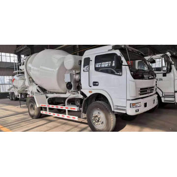Dongfeng 4 CBM Self Loading Concrete Mixer Truck