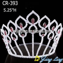 Wholesale cheap pink pageant crowns