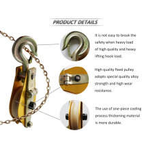 Aluminium Pulley for Rescue and Search