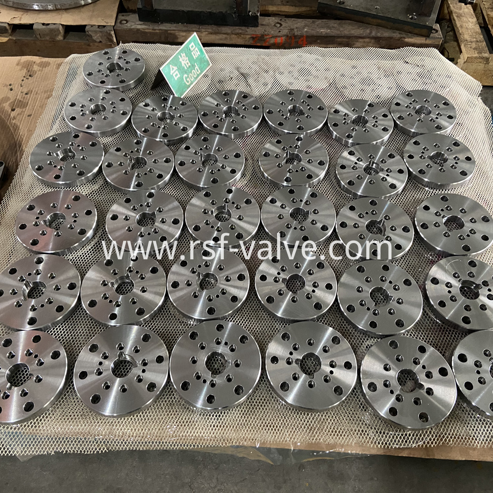 Ball Valve Part Adapter Plate 1