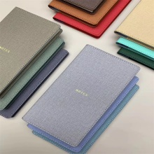 Flex non-woven leather for notebook cover