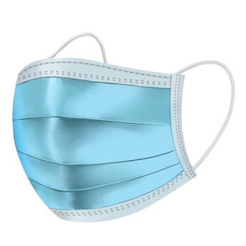 Colourful Simple Disposable Non Woven Dust Mask