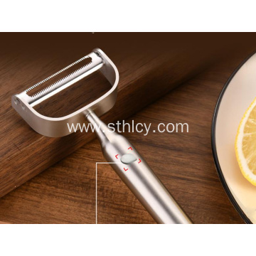 Peeled melon fruit plane all steel household gadgets
