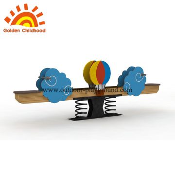 Seesaw indoor play equipment