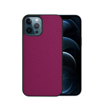 New Litchi Pattern Original Leather Cases for iPhone 12