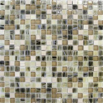 Associated stone series elegant glass mosaic tiles