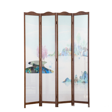 hot sell vintage wooden screen room divider