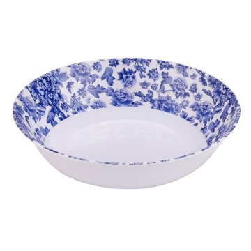 8.5 Inch Melamine Shallow Bowls Set of 6