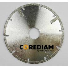 D125 Diamond Segmented Electroplated Blade