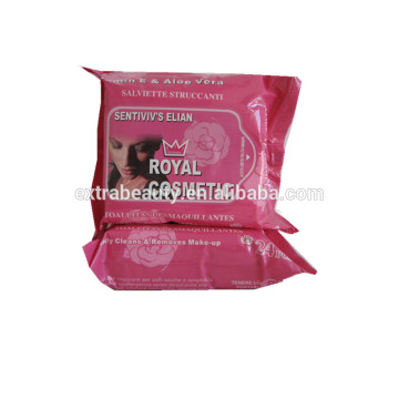 Disposable Cleaning Makeup Remover Wet Wipes