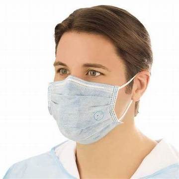 3 ply disposable nonwoven medical face mask