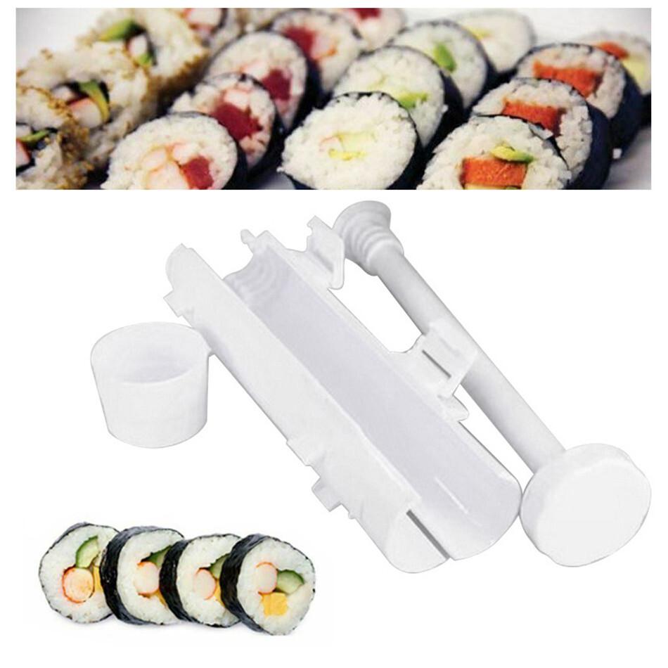 Sushi Machine Roller Rice Mold Sushi Rocket Rocket Sushi Tool DIY Sushi Making Machine Kitchen Sushi Mold Kitchen Tools Dropship