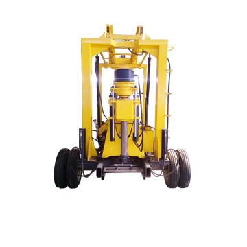 Trailer Mounted Borehole 600M  Drilling Rig