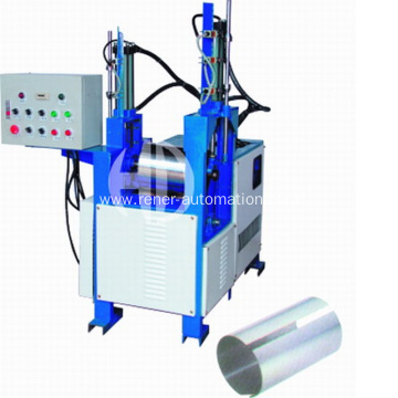 Hydraulic roll rounding machine