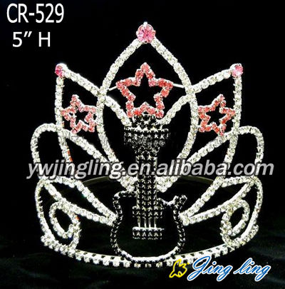 Pageant Crown guitar star shape CR-529