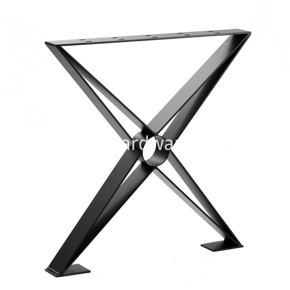 X-Shaped Table Leg