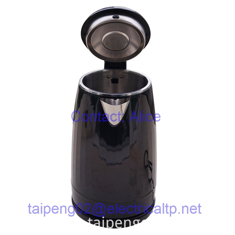 Black Stainless Steel Kettle Plastic