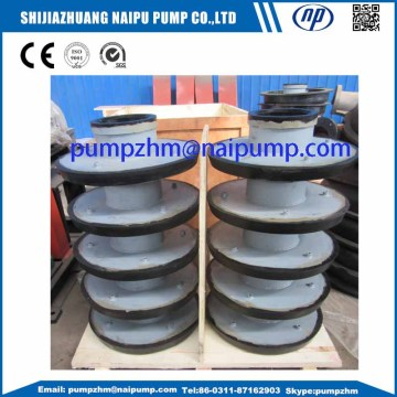 8/6E-AHR rubber slurry pump throat bushing