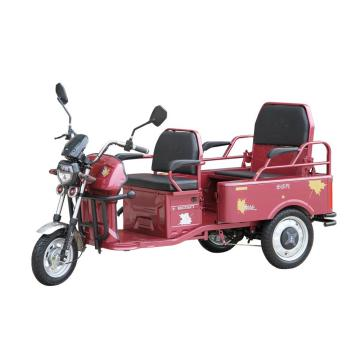 leisure electric tricycle with passenger seat