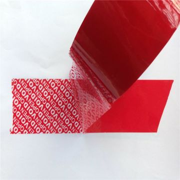 tamper evident security packing adhesive sealing tape