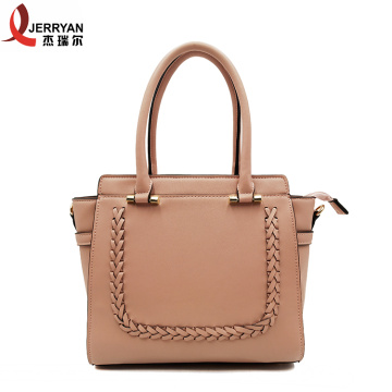 Popular Pink Satchel Shoulder Tote Handbag