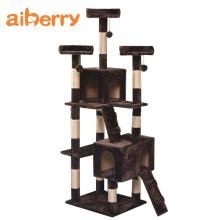 Aiberry Cat Scratch Climbing Tower Tree House