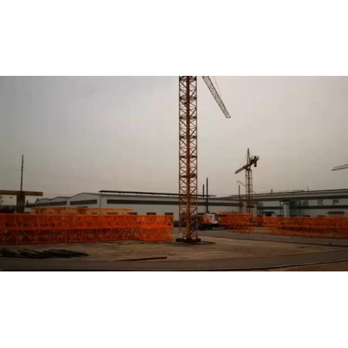 crane machine QTZ63 tower crane