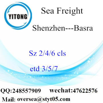 Shenzhen Port LCL Consolidation To Basra