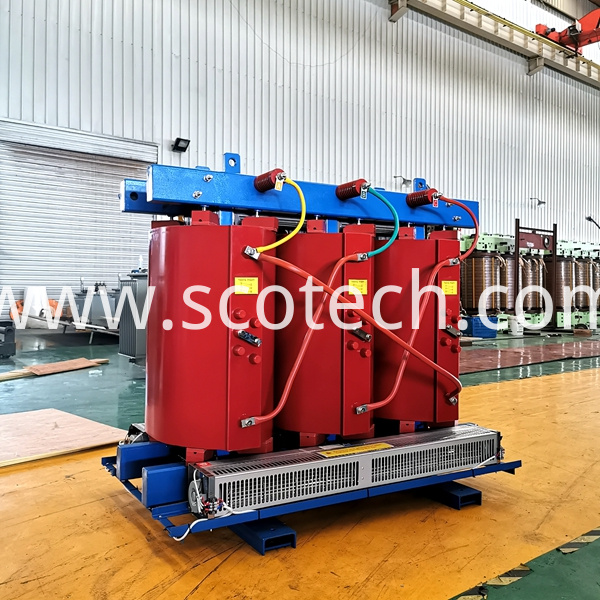 800kva air cooled transformer
