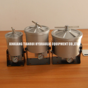 Casted aluminum Bypass Oil Cleaner BU100 Oil Filter