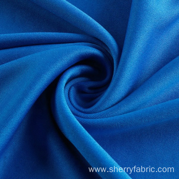 Circular knitted polyester interlock fabric for underwear